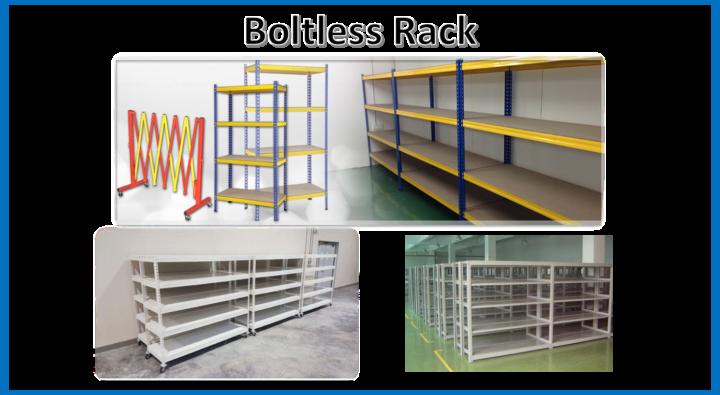Boltless Rack Penang Kedah Perak